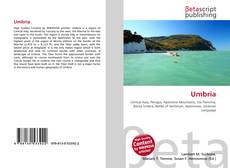 Bookcover of Umbria