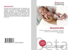 Bookcover of Abwehrkräfte