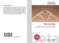 TNA Sacrifice kitap kapağı