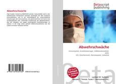 Abwehrschwäche kitap kapağı