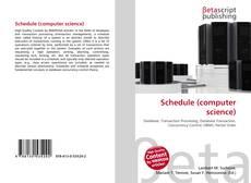 Portada del libro de Schedule (computer science)