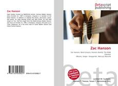 Bookcover of Zac Hanson
