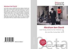 Abraham ben David的封面