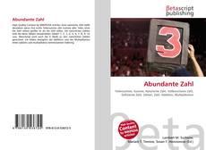 Buchcover von Abundante Zahl