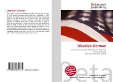 Obadiah German kitap kapağı