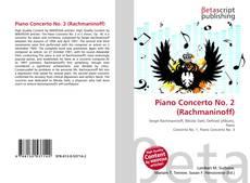 Couverture de Piano Concerto No. 2 (Rachmaninoff)