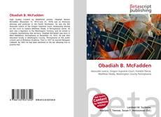 Bookcover of Obadiah B. McFadden