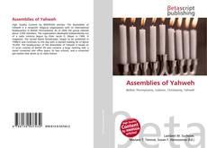 Capa do livro de Assemblies of Yahweh