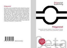 Bookcover of Polyprenol