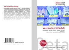 Portada del libro de Vaccination Schedule