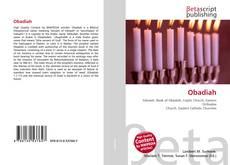 Bookcover of Obadiah