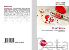 Couverture de RNA Editing