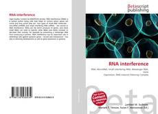 Couverture de RNA interference