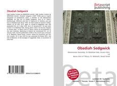 Obadiah Sedgwick kitap kapağı