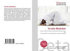 Bookcover of Sa'adu Abubakar
