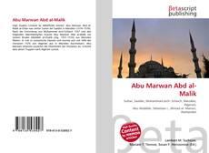 Abu Marwan Abd al-Malik kitap kapağı