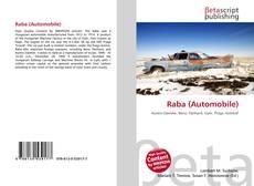 Copertina di Raba (Automobile)