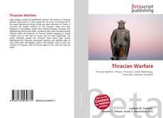 Bookcover of Thracian Warfare