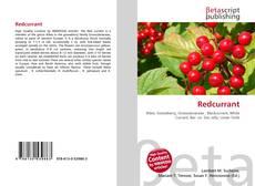 Buchcover von Redcurrant