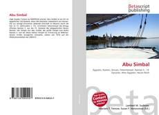 Обложка Abu Simbal