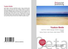Bookcover of Yaakov Bodo