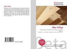 Abu Yahya的封面