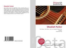 Obadiah Parker kitap kapağı