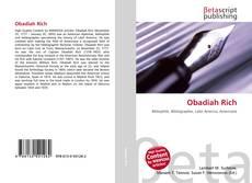 Obadiah Rich kitap kapağı