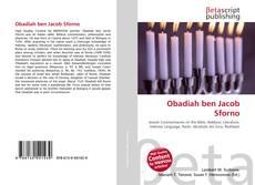 Bookcover of Obadiah ben Jacob Sforno
