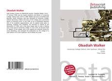 Obadiah Walker kitap kapağı