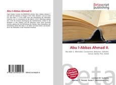 Bookcover of Abu l-Abbas Ahmad II.