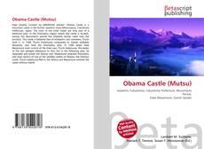 Portada del libro de Obama Castle (Mutsu)