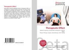 Therapeutic Effect的封面
