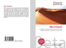 Capa do livro de Abu l-Fawari