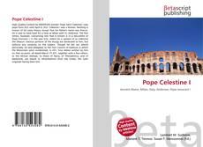 Pope Celestine I kitap kapağı