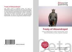 Treaty of Alexandropol的封面