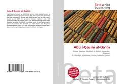 Abu l-Qasim al-Qa'im kitap kapağı