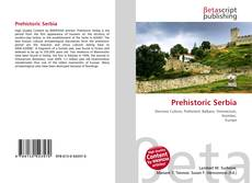 Bookcover of Prehistoric Serbia