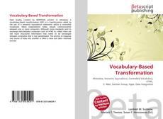 Capa do livro de Vocabulary-Based Transformation