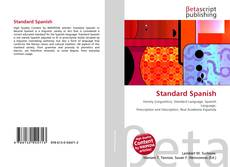 Bookcover of Standard Spanish