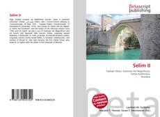 Bookcover of Selim II