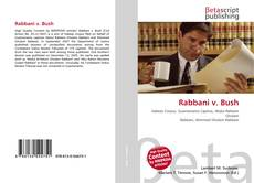 Bookcover of Rabbani v. Bush