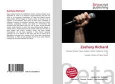 Zachary Richard kitap kapağı