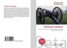 Bookcover of Prehistoric Warfare