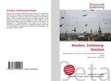 Bookcover of Wacken, Schleswig-Holstein