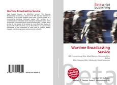 Buchcover von Wartime Broadcasting Service