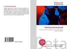 Bookcover of Tommy Emmanuel