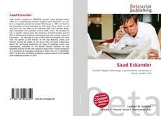 Borítókép a  Saad Eskander - hoz