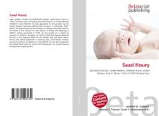 Bookcover of Saad Houry