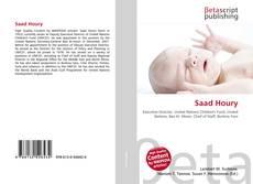 Borítókép a  Saad Houry - hoz